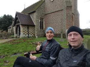 First break after 20km